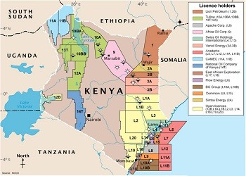 Kenya Oil Blocks