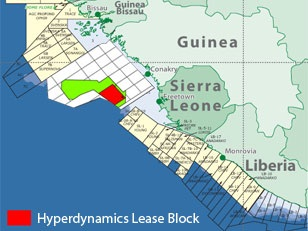 Hyperdynamics-Guinea-offshore-west africa
